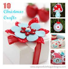 homemade christmas 10 christmas crafts a spoonful of sugar