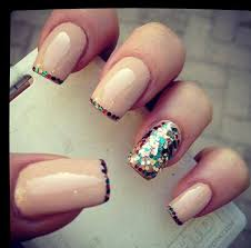 trendy finger ring wearing creative nail art designs