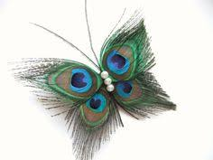 it easy crafts peacock feather butterfly ornament