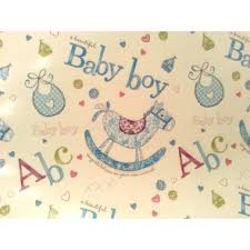 baby boy wrapping paper wrapping paper finoora boutique