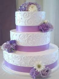 wedding cake lavender picosa lillies weddingcakes