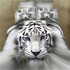 Wolf Bed Sets 100 Cotton 3d Tiger Wolf Bedding Set Bed Sheet Set Bedcover