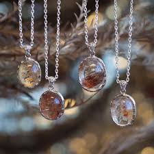 stone necklace pendants images Shaman 39 s stone pendants for dream recall and deepened meditation jpg