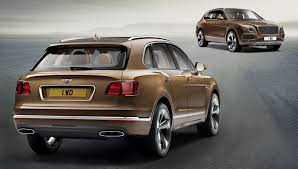 bentley sports car 2016 best of the best 2016 wheels suvs bentley bentayga u2013 robb report