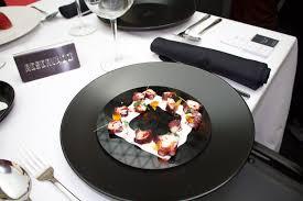 restaurant thierry marx cuisine mol ulaire étonné restaurant cuisine moléculaire mobilier moderne