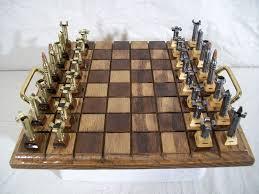 Contemporary Chess Set Caliber 223 Unique Chess Set For Cautious Players Extravaganzi