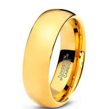 mens comfort fit wedding bands tungsten wedding band ring 7mm for men women comfort fit 18k