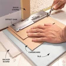 Installing Ceramic Tile Floor How To Install Ceramic Tiles