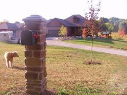 brick mailbox plans awesome house brick mailbox designs within