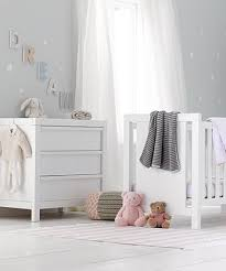 white nursery changing table baby changing units nursery dressers mothercare