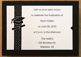 graduation open house invitation design your own graduation invitations top 11 graduation party