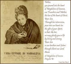 novena of thanksgiving saint magdalene of canossa pray for us u2013 nunspeak