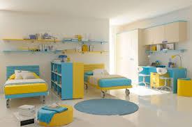 bedroom kids bedroom pastel yellow blue twin bed kid bedroom