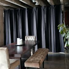 transparent room divider sliding curtain dividers kids ideas