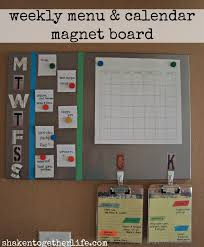 diy family organization station tons of tutorials to stay organized