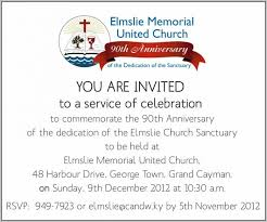 memorial announcement wording church anniversary invitation wording template resume exles