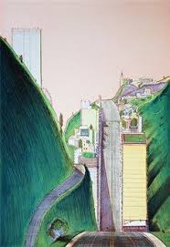 Wayne Thiebaud Landscapes by Wayne Thiebaud U0027s Landscapes Are So Much More Interesting Than His