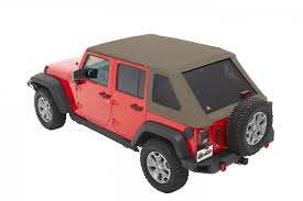 tan jeep wrangler jeep jk unlimited soft top trektop nx plus 07 17 jeep wrangler jk