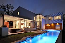 house architecture exterior mansion pool newest modern houses with