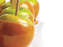 how to make caramel apples cooking light