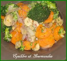 cuisiner brocolis a la poele poëlée de brocoli carottes chignons de equilibre et