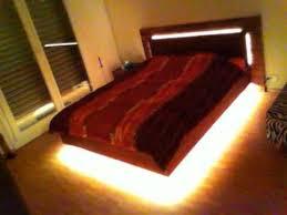floating led bed youtube