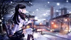 wallpaper engine info wallpaper engine anime girl snowfall 4k 60fps youtube