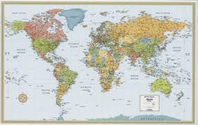 World Map With States by World Map Home Page