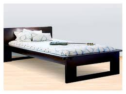Modern Single Bed Frame Ayres Modern Twin Bed