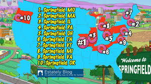 Springfield Ohio Map by Springfield Pa Named Fourth Most Simpson Like Springfield
