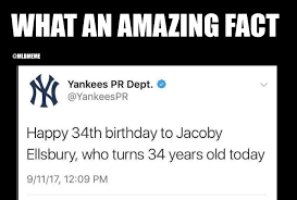 At Least You Tried Meme - mlb memes at least you tried yankees p r department facebook