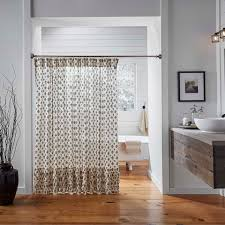 Black Ruffle Shower Curtain Primitive Shower Curtains At Primitive Star Quilt Shop