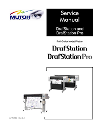 mutoh drafstation u0026 drafstation pro service manual