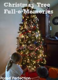 Decorate Christmas Tree Without Ornaments by Posed Perfection Our Christmas Tree Full O Memories