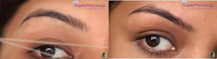 Shaping Eyebrows At Home Eyebrow Threading Step By Step Tutorial
