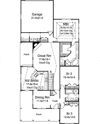Merry 7 House Plan With 14 Remarkable House Plans Narrow Lot Detached Garage With Floor