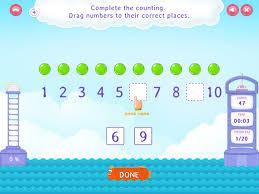 count forward within 10 worksheets kindergarten grade math