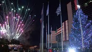 texas motor speedway gift of lights christmas tree lighting fireworks monday night at texas motor
