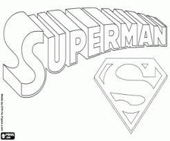 superman logo coloring hero symbols superman