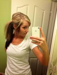 dark hair underneath light on top blonde on top dark brown on the bottom hair and makeup ideas