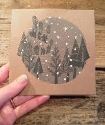 lino print christmas card https www etsy com uk listing
