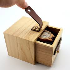 box wooden bobo bird wood box wooden drawer box with leather