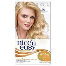 platunum hair dye over the counter clairol nice n easy permanent hair dye 88 10a natural ultra light