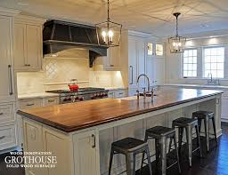 solid wood kitchen islands distressed solid wood island countertops for kitchens