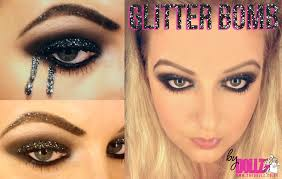 halloween make up glitter bomb blog houseofcb com