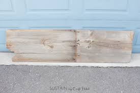 Hairpin Leg Console Table How To Make A Diy Reclaimed Barn Wood Hairpin Leg Console Table