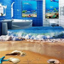 cuisine salle de bains 3d pas cher sol 3d papier peint photo personnalis eacute pvc papier
