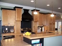 black trim maple kitchen black trim craftsman