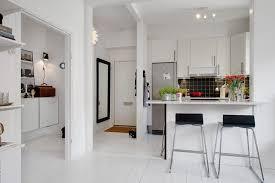 cuisine ouverte sur le salon cuisine ouverte de style scandinave