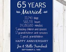 65th anniversary gift personaised 3rd wedding anniversary leather keepsake gift
